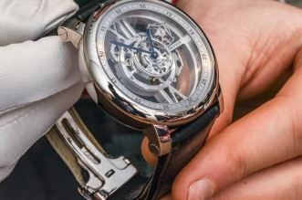 Cartier Rotonde De Cartier Astrotourbillon Skeleton Watch